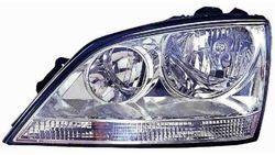 Farol Esquerdo Eletrico C/ Motor Kia Sorento 02-06