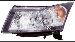 Farol Esquerdo Eletrico Chevrolet Cruze 4 / 5P 09-