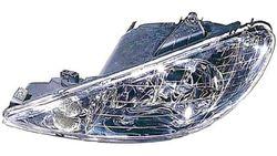 Farol Esquerdo Peugeot 206 98-09