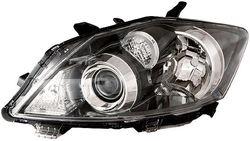 Farol Esquerdo Toyota Auris 10-13 Xenon Mascara Preta