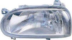 Farol Esquerdo Vw Golf III 92-97 H4