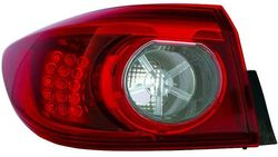 Farolim Esquerdo Led Mazda 3 Sedan 4P 13-