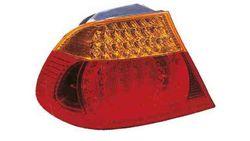 Farolim Esquerdo Tras Led Bmw S-3 E46 Coupe / Cabrio 03-06 Laranja-Vermelho