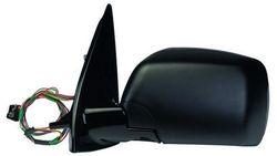 Espelho Esquerdo Eletrico Azul Bmw X5 01-06 Rebativel