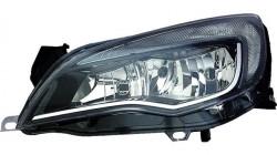 Farol Esquerdo C/ Luz Diurna Opel Astra J 5P Sports Tourer 10-16