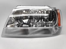 Farol Esquerdo Eletrico Chrysler-Jeep Grand Cherokee 99-05