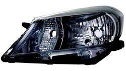Farol Esquerdo Toyota Yaris 11-14 Mascara Preta