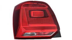 Farolim Tras Esquerdo Escuro Volkswagen Polo 14-17