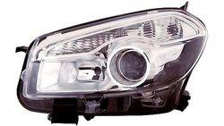 Farol Direito Nissan Qashqai 10-14 Xenon + H7