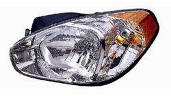 Farol Esquerdo Eletrico Hyundai Accent 3 / 4P 06-11