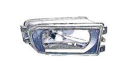 Farol Nevoeiro Direito Bmw S-5 E39 95-00 Transparente