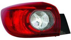 Farolim Esquerdo Mazda 3 Hatchback 5P 13- Exterior