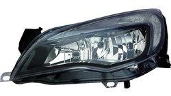 Farol Esquerdo C/ Luz Diurna Opel Astra J 10-16 Mascara Preta