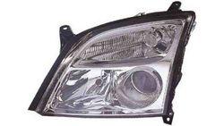 Farol Esquerdo Opel Vectra C 02-05 Mascara Preta