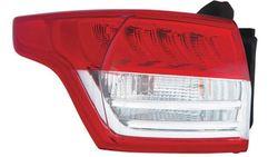 Farolim Esquerdo C/ Porta-Lampadas Branco-Vermelho Led Ford Kuga II 13-17