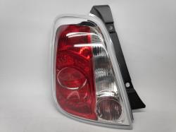Farolim Esquerdo Fiat 500 07- Vermelho-Branco