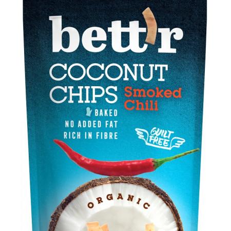 Chips de cocos cu chilli eco 70g BETTR