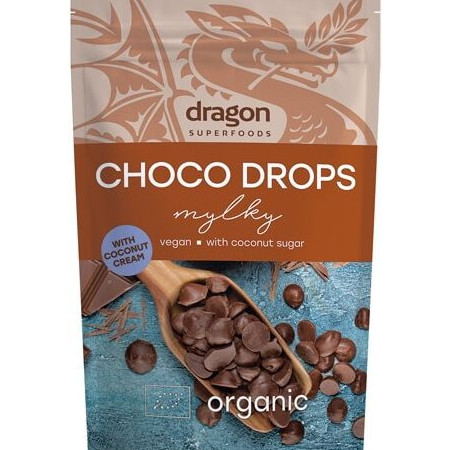 Choco drops Milky eco 250g DS