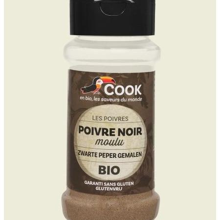 Piper negru macinat bio 45g Cook