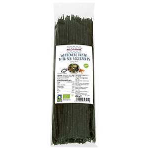 Spaghetti integrale cu alge marine eco 250g Algamar
