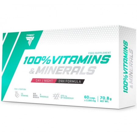 Vitamine si minerale 60 capsule Trec