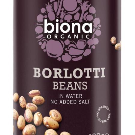 Fasole Borlotti bio 400g Biona