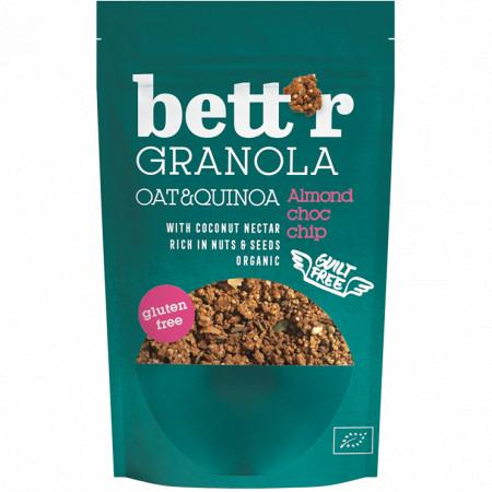Granola cu migdale si ciocolata fara gluten eco 300g Bettr