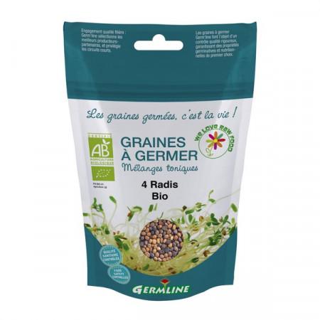 Mix din 4 ridichi pentru germinat eco 100g