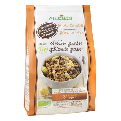 Musli din seminte germinate Fruits of the sun eco 350g Germline