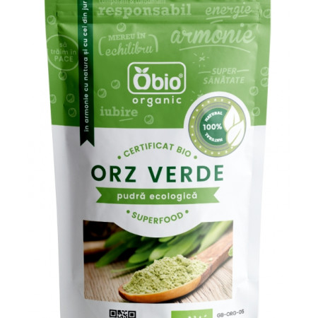 Orz verde pulbere eco 125g Obio
