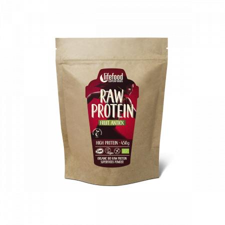 Pudra proteica Fruit Antiox Superfood raw eco 450g Lifefood