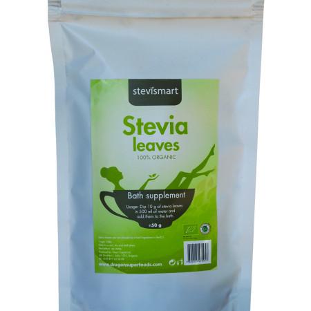 Stevia frunze intregi eco 50g