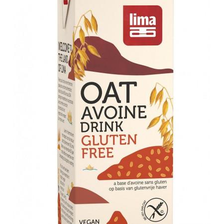 Bautura vegetala de ovaz fara gluten eco 1L Lima