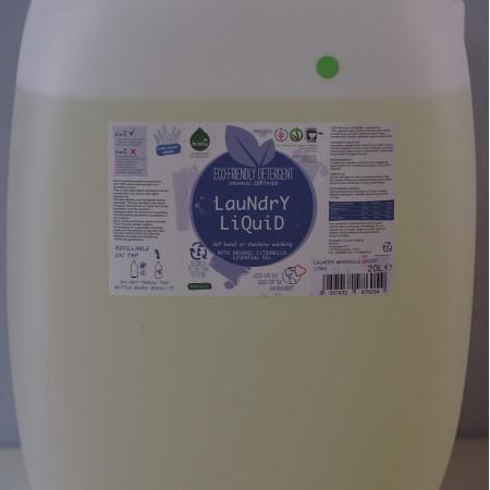 Biolu detergent ecologic vrac pentru rufe albe si colorate lamaie 20L