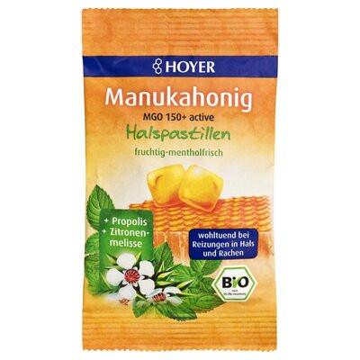 Bomboane cu miere de Manuka MGO +150 eco 30g HOYER
