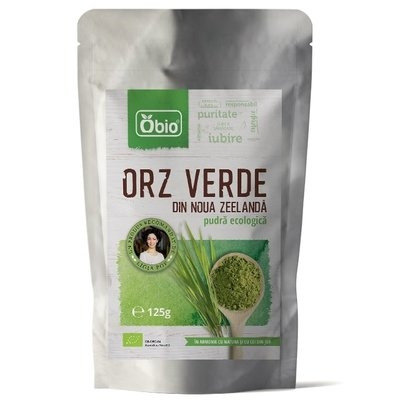 Orz verde pulbere eco NZ Obio 125g