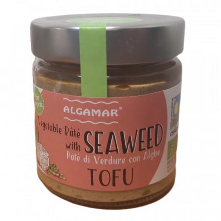 Pate vegetal cu alge si tofu eco 180g Algamar
