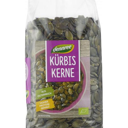 Seminte de dovleac origine Austria bio 500g Dennree