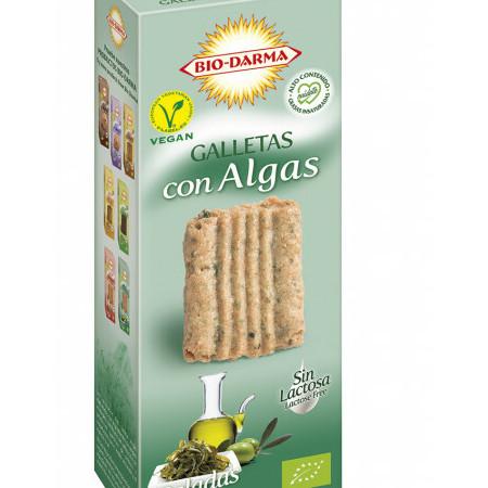 Biscuiti din ovaz cu alge bio 120g Bio Darma