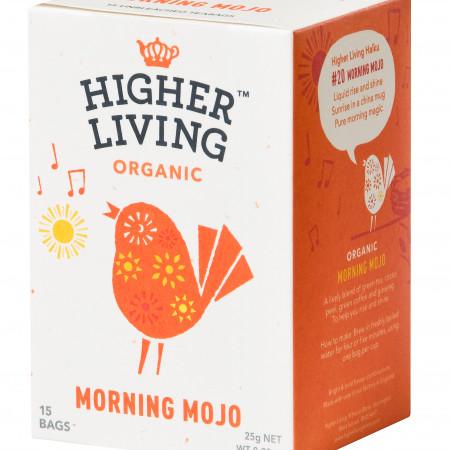 Ceai MORNING MOJO eco, 15 plicuri, Higher Living