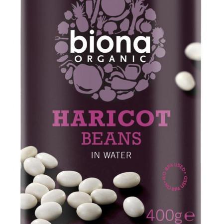 Fasole alba Haricot bio 400g Biona