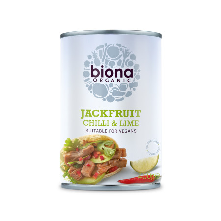 Jackfruit cu chilli si lime eco 400g Biona