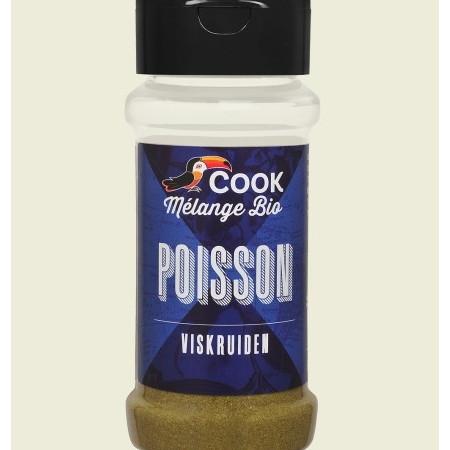 Mix de condimente pentru peste bio 30g Cook