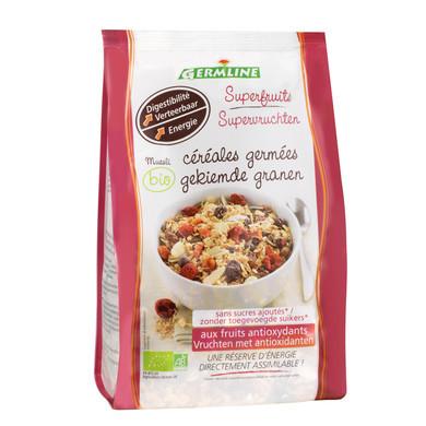 Musli din seminte germinate cu superfructe eco 350g Germline