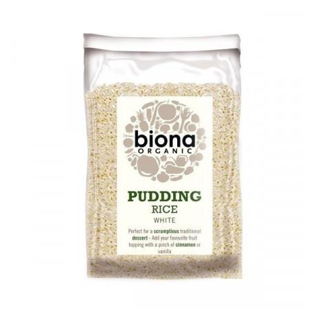Orez alb pentru orez cu lapte eco 500g Biona