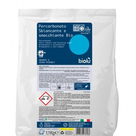 Biolu Detergent ecologic pentru scos pete pudra 1,1kg - punga