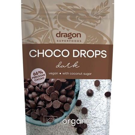 Choco drops Dark ciocolata neagra eco 250g DS