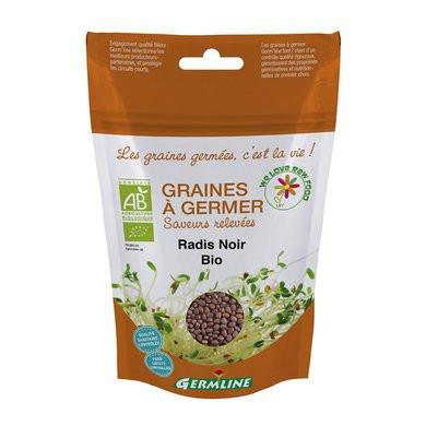Ridiche neagra pentru germinat eco 150g Germline