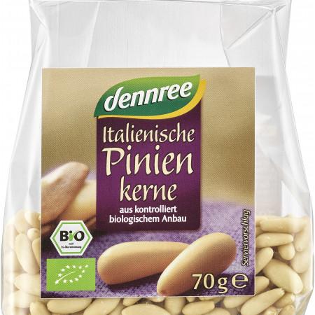 Seminte de pin bio 70g Dennree