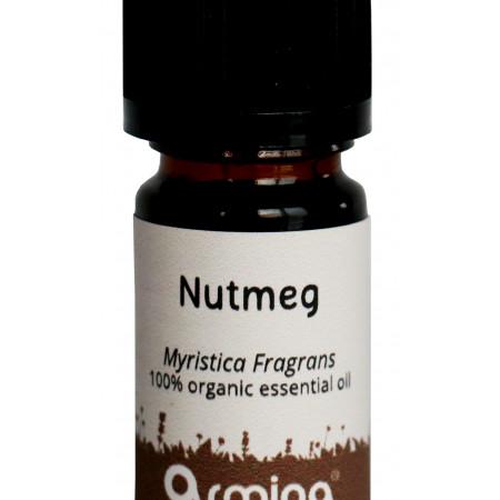 Ulei esential de nucsoara (myristica fragrans) pur bio 5ml ARMINA